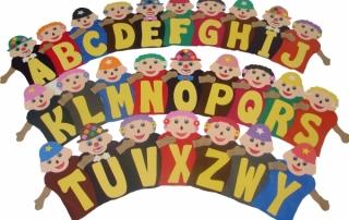 Fantoches-Alfabetização